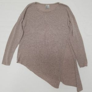 H&M Asymmetrical Side Slit Sweater
